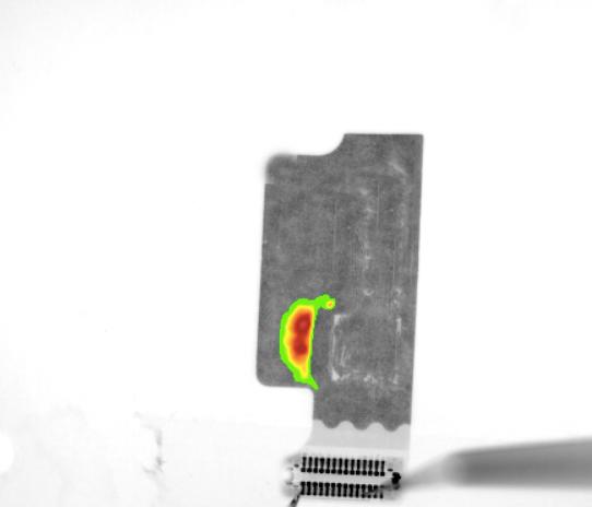红外热显微镜用于FPC失效分析案例